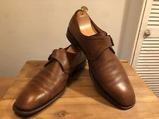 Salvatore Ferragamo Monk Strap Brown Leather Shoe! UK-12(2E)!Used! Only £349,90!
