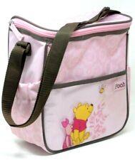 Disney Mini Diaper Bag Winnie The Pooh Pink Brown Baby Bottles Pacifier Holder