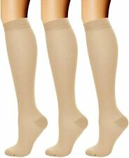 CHARMKING Compression Socks for Women & Men (3 Pairs) 15-20 mmHg is Best for Ath