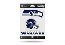 Rico NFL 3 Die Cut Decals Stickers Triple Spirit Helmet Seattle Seahawks New