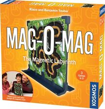 MAG-O-MAG The Magnetic Labyrinth Game 3 Games in 1 Kosmos 692759