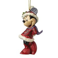 Disney Traditions Sugar Coated Minnie Mouse Hanging Christmas Tree Decoration