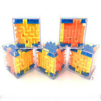 Toy Game  Brain Teaser  Magic Cube Plastic  Puzzle Maze Ball Labyrinth Rolling