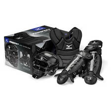 Mizuno Prospect Mpp1200 Youth Boxed Catchers Gear Set Black