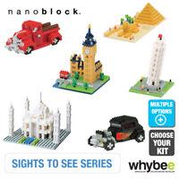 Nanoblock Sights To See Series Full Landmark Famous Micro Building Blocks
