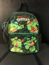 VINTAGE ORIGINAL 1989 TEENAGE MUTANT NINJA TURTLES BACKPACK MIRAGE STUDIOS. COOL
