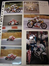 Photo Collage Honda NSR250 1984/88 Anton Mang (GER) 16x