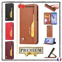 Etui coque housse Cuir PU Leather Wallet Case Huawei Honor 9 Lite ou 9i (2018)
