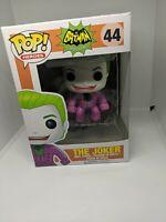 Funko Pop! The Joker #44 Batman Classic 1966 TV Series Vaulted Retired