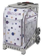 Zuca Bag Confetti Insert & Gray Frame w/Flashing Wheels - Free Cushion