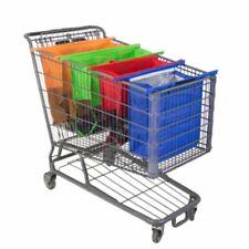 4X Thicken Cart Trolley Supermarket Shopping Bags Foldable Reusable Eco Handbag