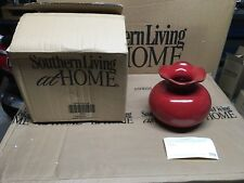 Southern Living At Home Cinnabar Vase NEW! 40863