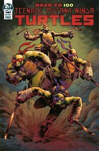 Teenage Mutant Ninja Turtles: Road To 100 (One Shot / First Print / 2019 / NM)