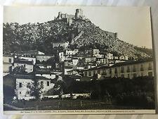 ww2 photo press ,  Cassino  campagne Italie     tirage d'epoque  40