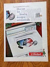 1960 Whirlpool RCA Washing Machine Ad