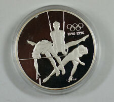 1992 Canada RCM 15 Dollar Silver 1996 Olympic Games Silver Proof Coin