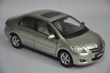 Toyota Vios model in scale 1:18 Gold