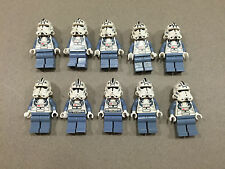 LEGO Clone Trooper Lot of 10 Star Wars Minifigure minifig Huge LOT Clones J240