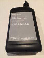Bmw Genuine Oem Rear Differential Oil Saf Xj 1 Liter 83222357992 75w-140 Sae