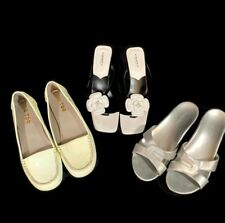 Lot of 3 Pairs of Shoes Size 7 - 7.5 Cabin Creek Proxy Me Too Sandals Flats