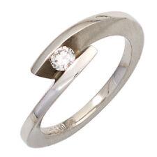 Diamant Echtschmuck mit SI Reinheit Ringgröße 52 (16,5 mm Ø)