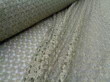 Crochet Lace 'Gabriela', (per metre) dress fabric, sewing