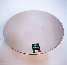 Rosone passacavo magnetico deMajo x lampadario sospensione diametro 15cm cromo