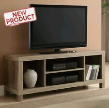 """42"""" TV Stand Storage Shelf Home Entertainment Center Media Console Table rustic"""