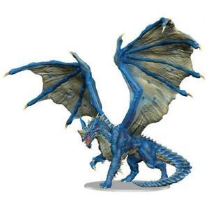 D&D Fantasy Miniatures: Adult Blue Dragon Premium Figure