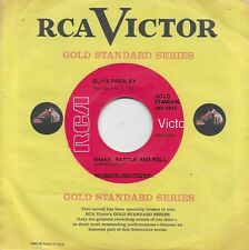 ELVIS PRESLEY  Shake Rattle And Roll / Lawdy Miss Clawdy 45 on the RCA red label