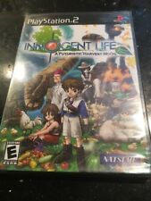 Innocent Life: A Futuristic Harvest Moon Sony PlayStation 2 ps2 new Sealed Facto