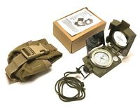 Compass, Military Reconnaissance Lensatic Compass OD Green