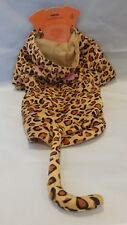 Halloween Leopard Pet Dog Costume Unisex Claire's Size Large 16 -20 lbs NWT