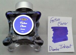 Diamine 50 ml Blue Edition Fountain Pen Bottled Ink Inkvent Festive Cheer