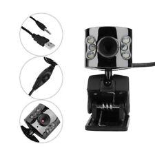 6 LED Webcam Camera Web Cam USB 30.0M With Mic For Desktop PC Laptop
