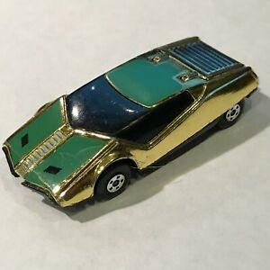 Matchbox Superfast Roman Numeral X Golden X Vintage 1978 EXC Gold England