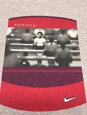 Nike Soccer XL Gray T-Shirt 2-sided Sport Foosball Game Field Goalie Cleat Goal