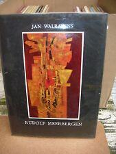 Monographie de l'art Belge Rudolf Meerbergen