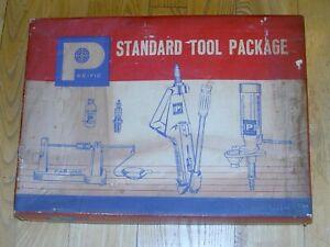 Pacific Reloading Standard Tool Package Press Press Scale Powder Meter Dies NIB