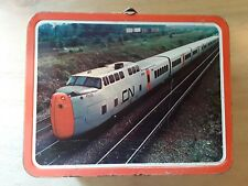 Vintage Tin Lunchbox C. P. / C.N. Rail Ohio Art. Hobby Train Collectible
