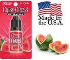Criss Cross Vape Vapor USA 10ML Watermelon 0 mg No Nicotine 2 bottles - $9.99