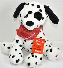 Gund Fun I SPOTTED YOU Singing Valentine's Day DALMATIAN DOG DO YOU LOVE ME New