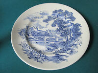 "ENOCH WEDGWOOD COUNTRYSIDE BLUE WARE PLATE 10"" [*BLUEBX2]"