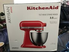 kitchenaid artisan mini 35 quart ksm3311xht tilt head stand mixer hot sauce d01 ebay - Artisan Kitchenaid Mixer
