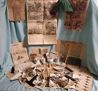 Antique Vintage U.S. Military Lot WW2 Vietnam War Korean War