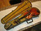 Antique Copy Of Antonius Stradiuarius Cremonensis Violin In Case Faciebat 1719