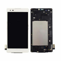 WOW LCD Screen Touch Digitizer Frame For LG Tribute HD LS676 X Style K200 LWhite