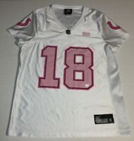 NFL Football Indianapolis Colts Peyton Manning #18 Jersey Womens Medium Reebok