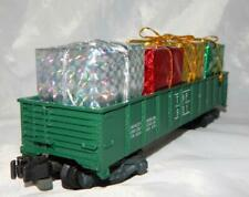 American Flyer 931 Texas & Pacific gondola w/ Christmas presents load Knuckle TP