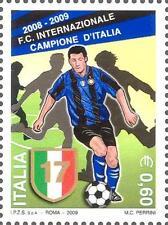 # ITALIA ITALY - 2009 - Inter Winner 17°  Soccer Football Calcio Sport Stamp MNH